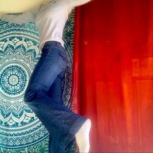 Incredible JASPER CONRAN kick flare jeans in 10